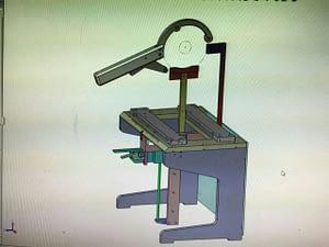 Single disc lifter tool