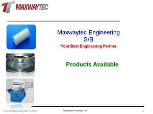 Maxwaytec Product List