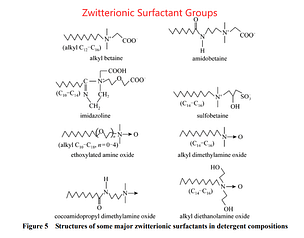 Zwitterionic Surfactant Groups